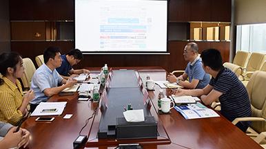 广东惠州惠东县商务局领导一行来千赢国际|官网千赢国际考察调研