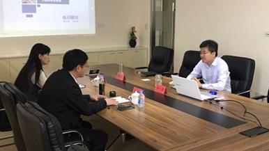 河南省焦作市博爱县商务局局长宋印堂一行到访千赢国际|官网千赢国际