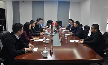 黑龙江省铁力市市长陈岩一行到访千赢国际|官网千赢国际