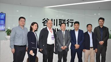 武汉市政府副秘书长陈明权一行到访谷川联行